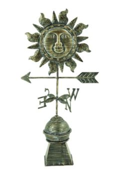 Metal Sun Weathervane