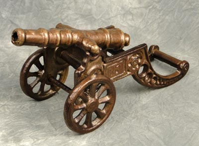 Antique Finish Cannon