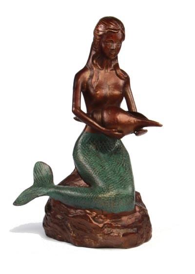 Aluminum Mermaid Statue