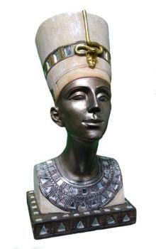 Decorated Queen Nefertitti Bust