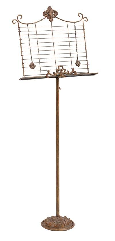 Decorative Music Stand Globe Imports