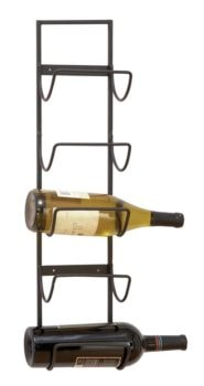 Wall Wine Rack for Five Bottles