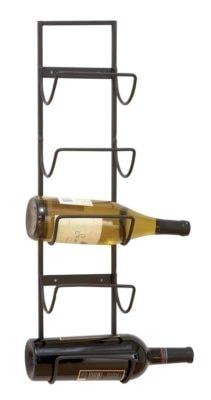 Wall Wine Rack for Five Bottles