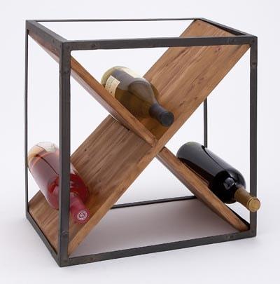 Wine Bottle Storage Cube
