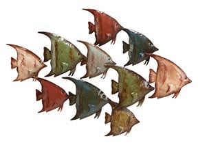 Angelfish Wall Sculpture
