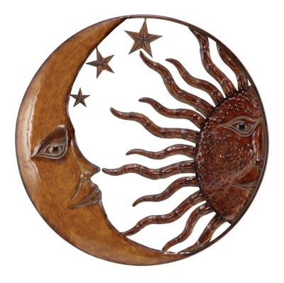 Moon and Sun Wall Hanging