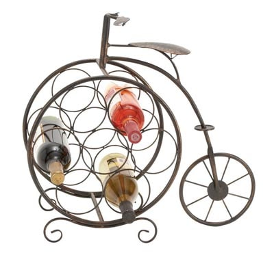 Old-Fashioned Bicycle Wine Rack