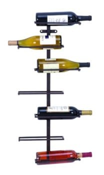 Wall Hanging Metal Wine Rack