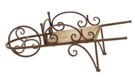 Garden Wheelbarrow Decorative Stand