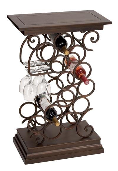 Wine Rack Table Globe Imports