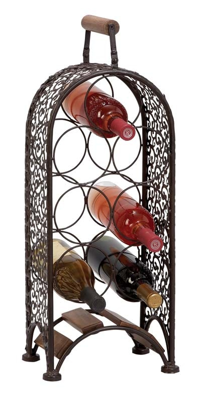 7-Bottle Wine Rack