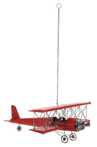 Hanging Bi-Wing Airplane