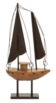 Rustic Model Sailboat