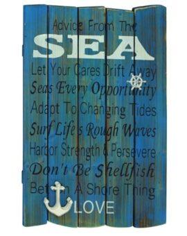 Sea Wisdom Sign