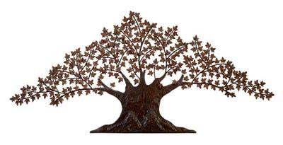 Metal Wall Tree