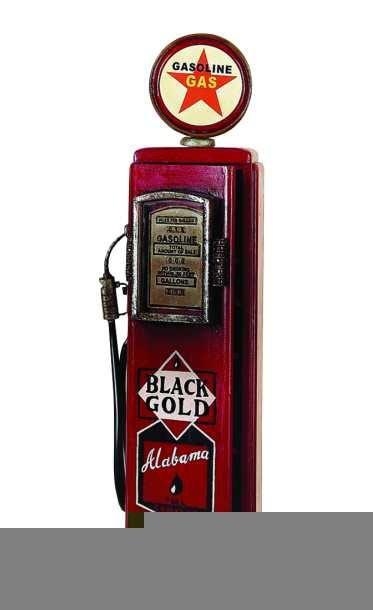 Vintage Gas Pump Cabinet Globe Imports