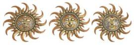 Assorted Wall Sun Face