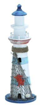 Lighthouse With Nautical Decorations