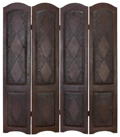 Old Spain Style Room Divider - Globe Imports