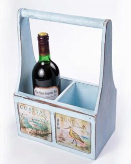 Bird Life Double Wine Caddy