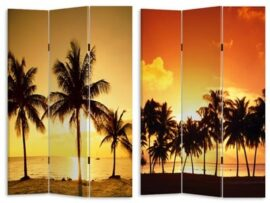 Sunset Oasis Room Divider