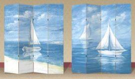 Sailboats Room Divider