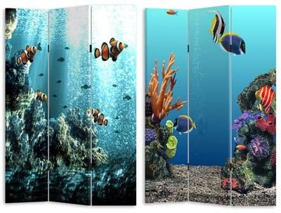 Coral Reef Room Divider