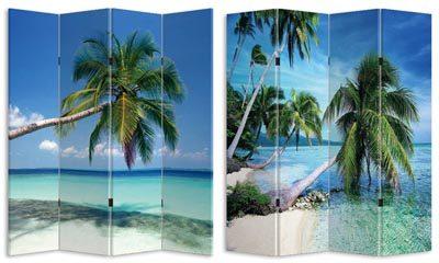 Island Paradise Room Divider