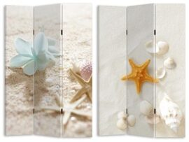 Shells and Sand Room Divider