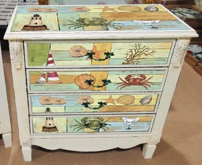 Four-Drawer By The Sea Chest