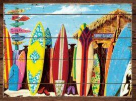 Surf Shack Canvas Print