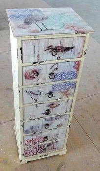 Shore Birds Cabinet