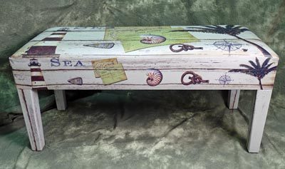 Sea Scene Bench