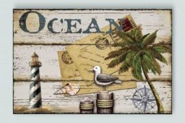 Decorative Ocean Sign