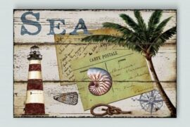 Decorative Sea Sign