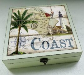 Wood & Glass Coast Box