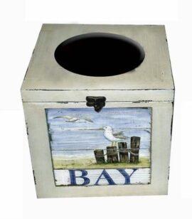 Decorative Coastal Tissue Box