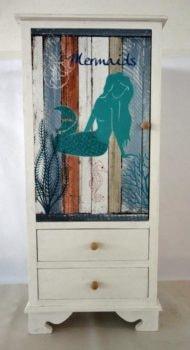 Mermaid Cabana Cabinet