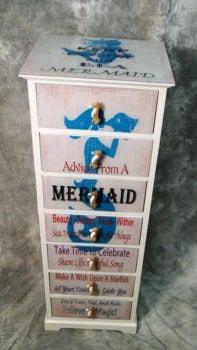 Mermaid Seven Drawer Cabinet