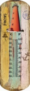 Ponce Inlet Lighthouse Thermometer