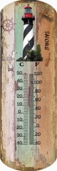 Saint Augustine's Lighthouse's Thermometer