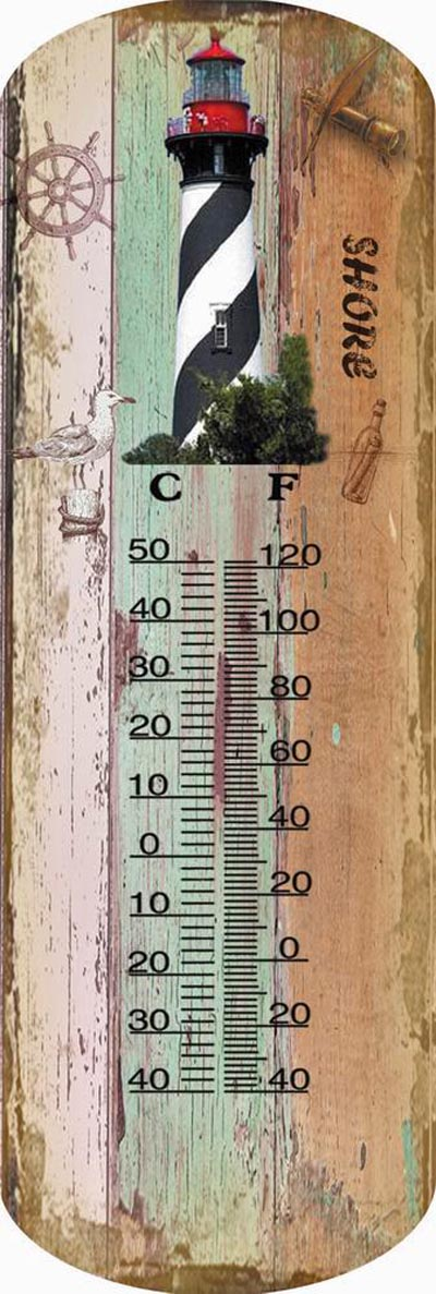 St. Augustine Lighthouse Thermometer