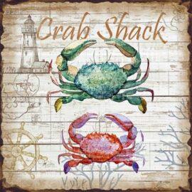 Metal Picture Crab Shack