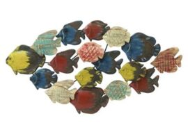 Colorful Fish Wall Decor