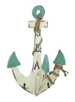 Wooden Wall Anchor with Hooks