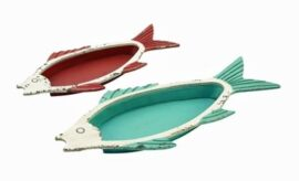 Set of Two Fish Trays