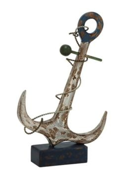 Rustic Looking Anchor on Base