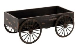 Rustic Wagon Decoration