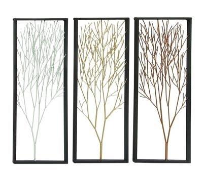 Assorted Tree Wall Panel