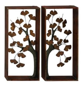 Two Panel Tree Wall Art Set